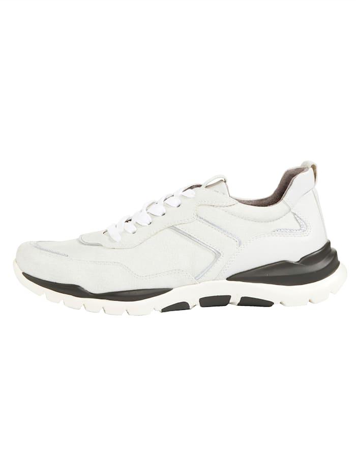 Sneaker met smalle hiel