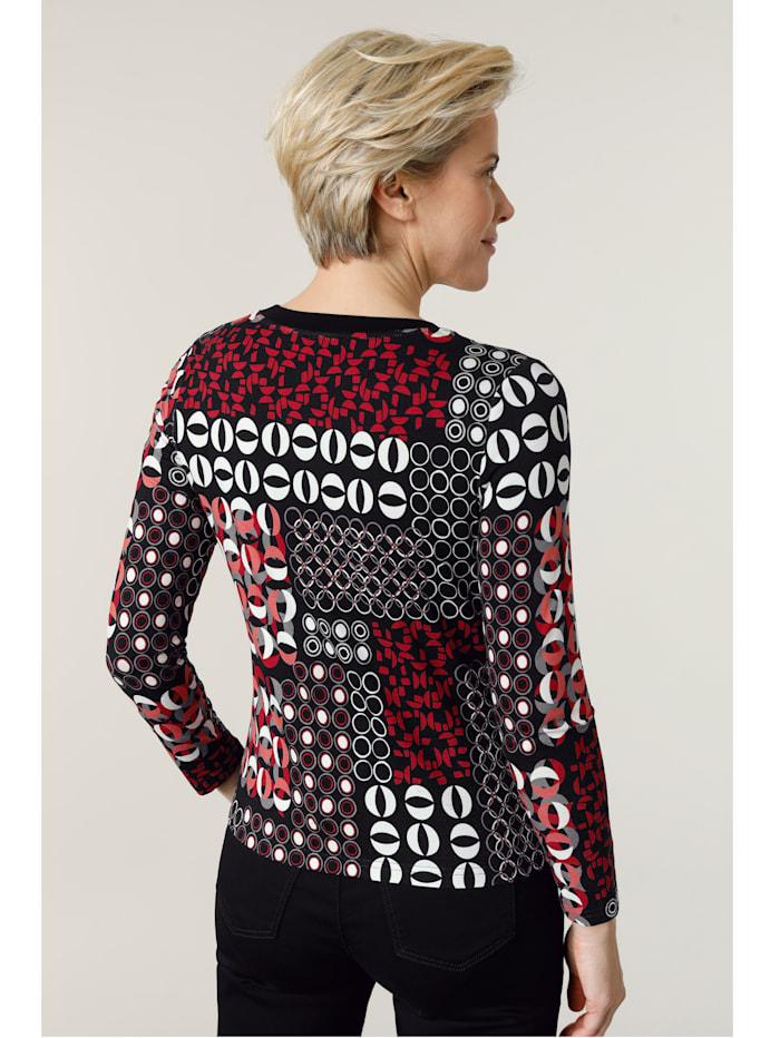 Shirt mit grafischem Druckmix