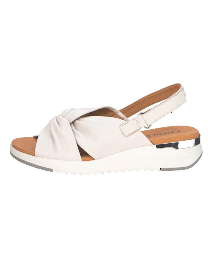 Sandales d'aspect noué tendance