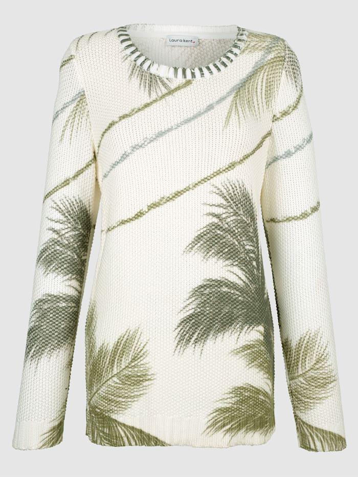 Pullover mit floralem Druck