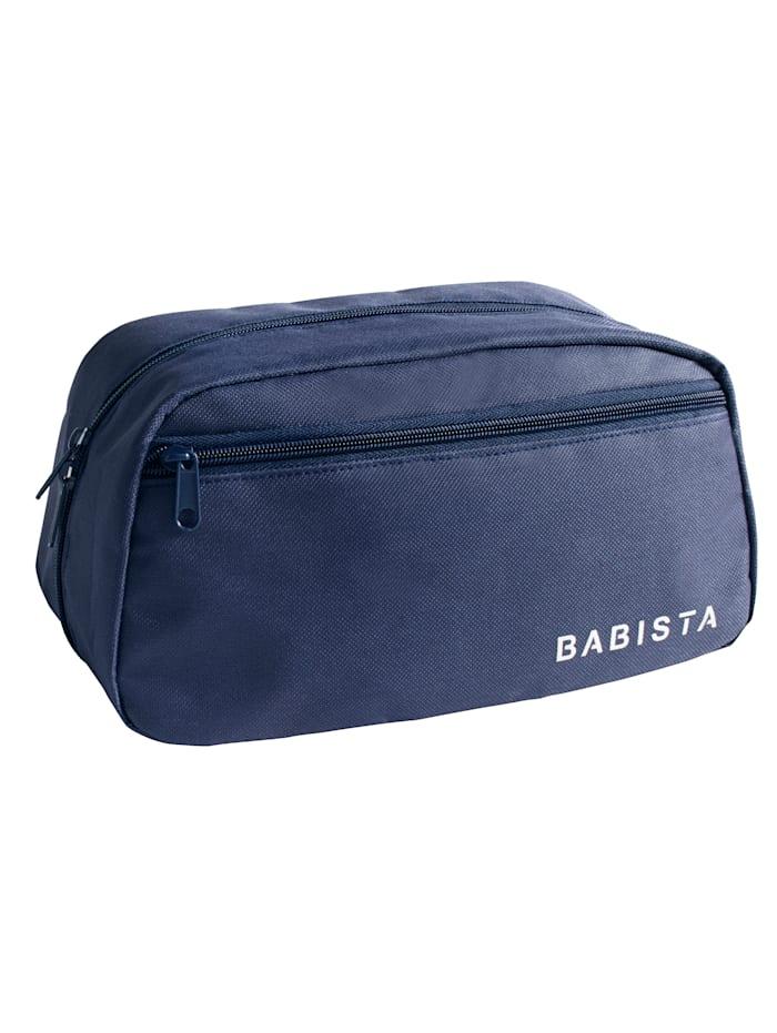 Toilettas Met BABISTA logo, blauw