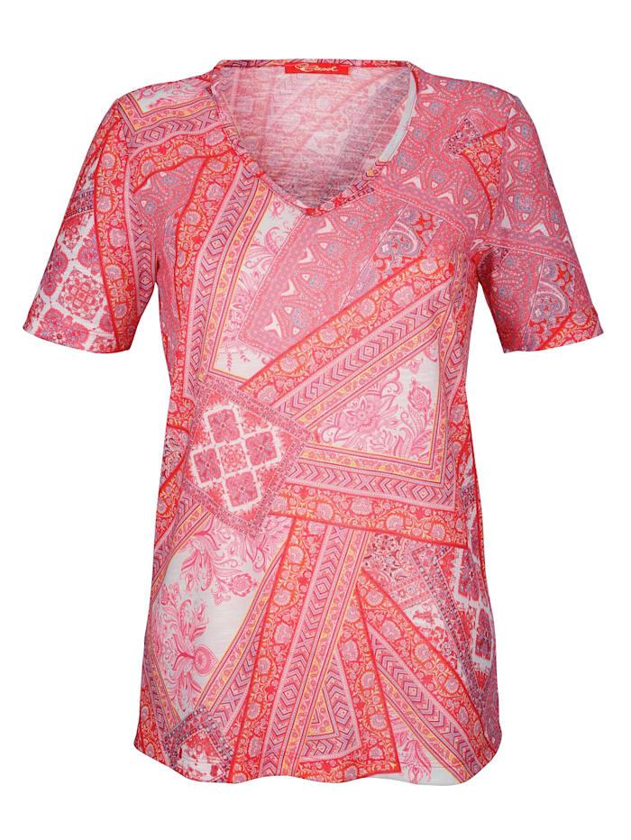 Paisley-kuvioitu paita