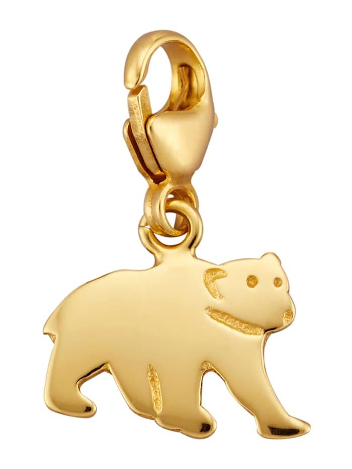Berlock – björn, Guldfärgad