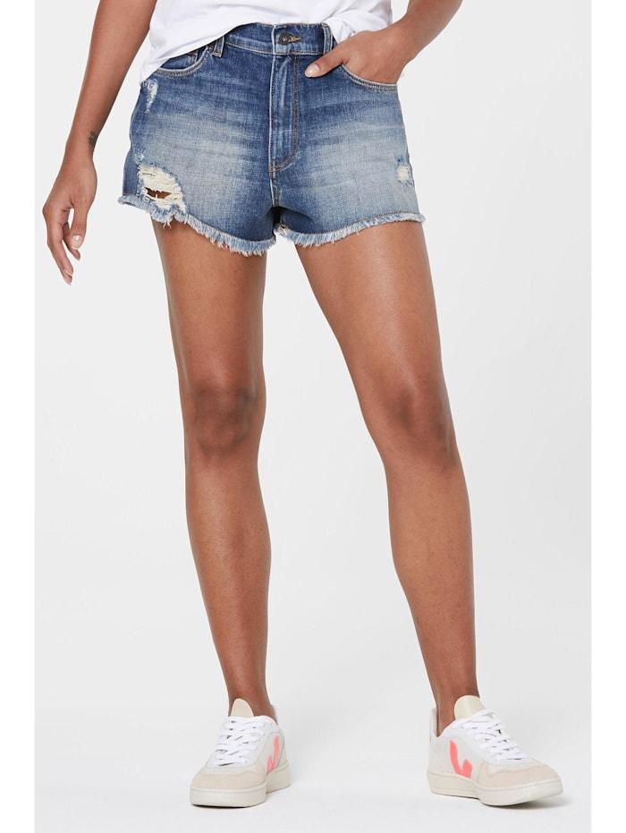 Harlem Soul SE-LIA High Waist Jeansshorts Light Blue Used, light blue used