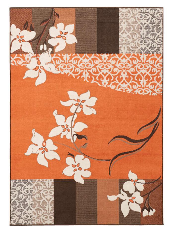 Casamaxx Vävd matta, Terrakotta