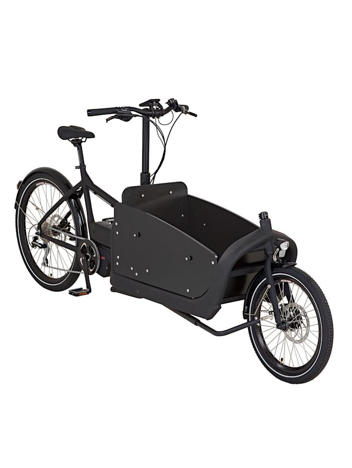 PROPHETE E-Bike Kindertransportrad vorne 20' hinten 26' eCarry 2.0, schwarz