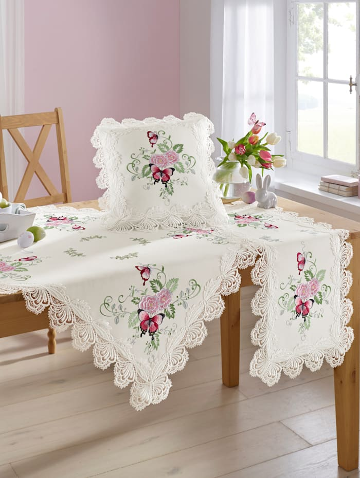 Linge de table 'Papillon'