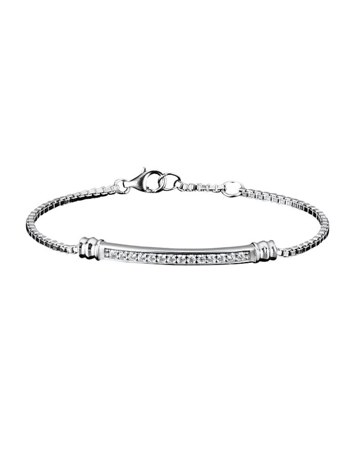 AMY VERMONT Armband, Zilverkleur