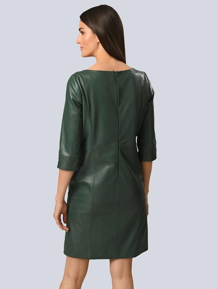Kleid aus softem Lammnappa