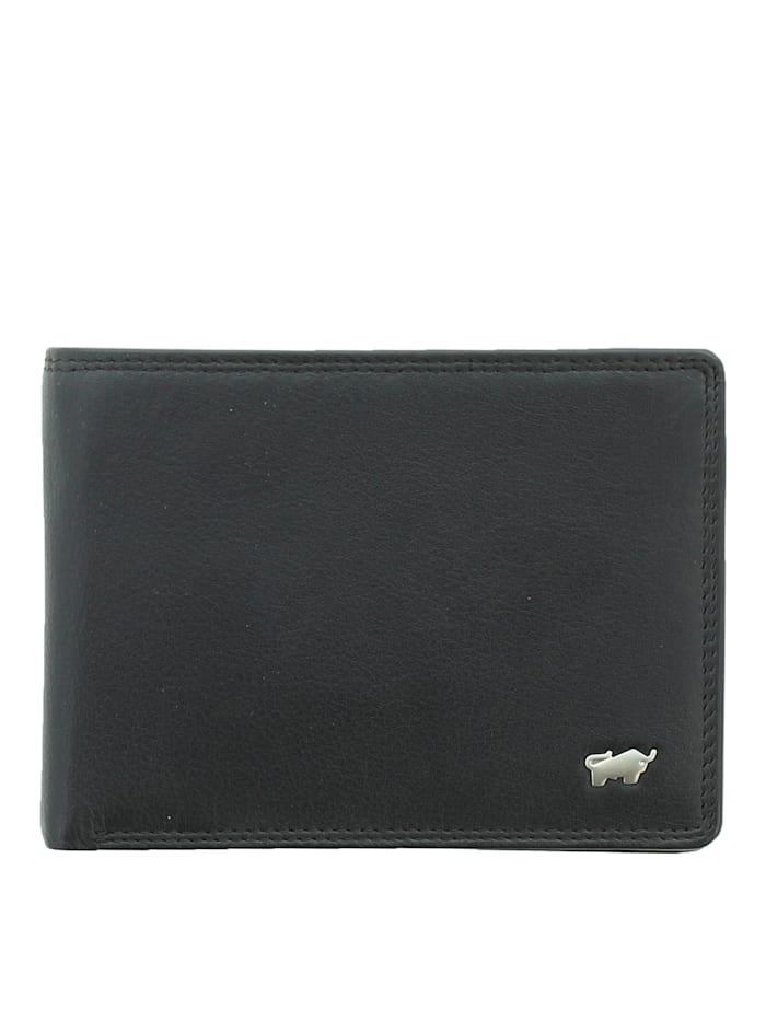 Braun Büffel Geldbörse GOLF 2.0 im eleganten Look 8CS, schwarz