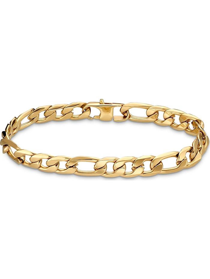FAVS. FAVS Herren-Armband Edelstahl, gold