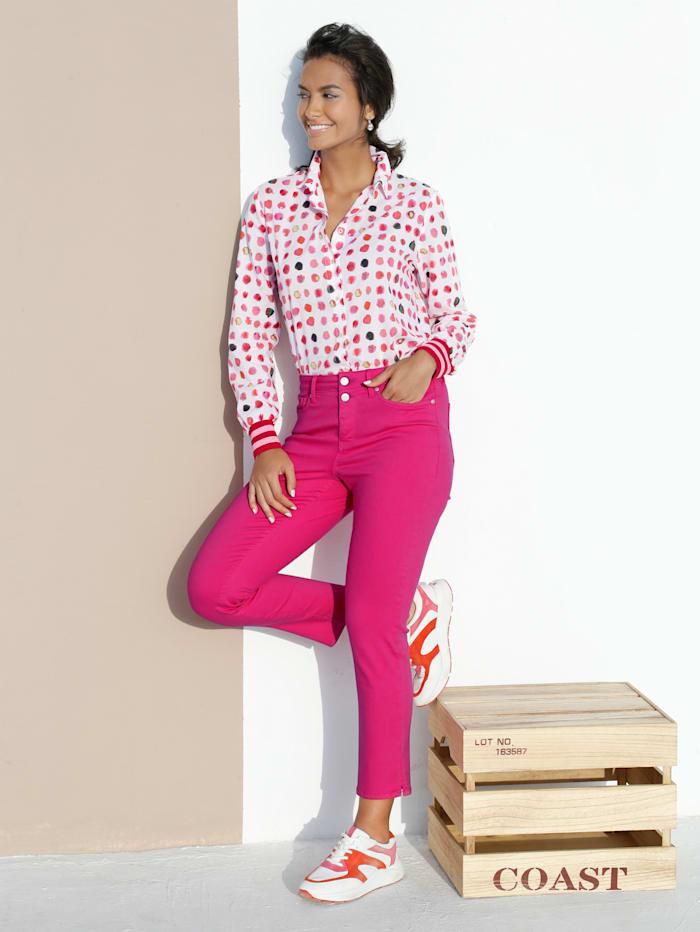 NYDJ Jeans 'Sheri' mit Shapingfunktion, Pink
