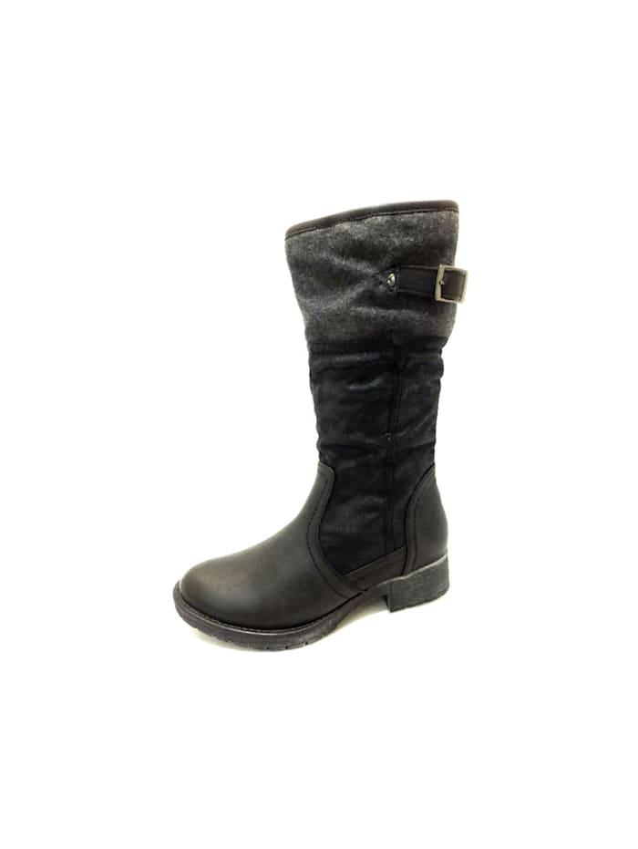 Softline Stiefel, schwarz