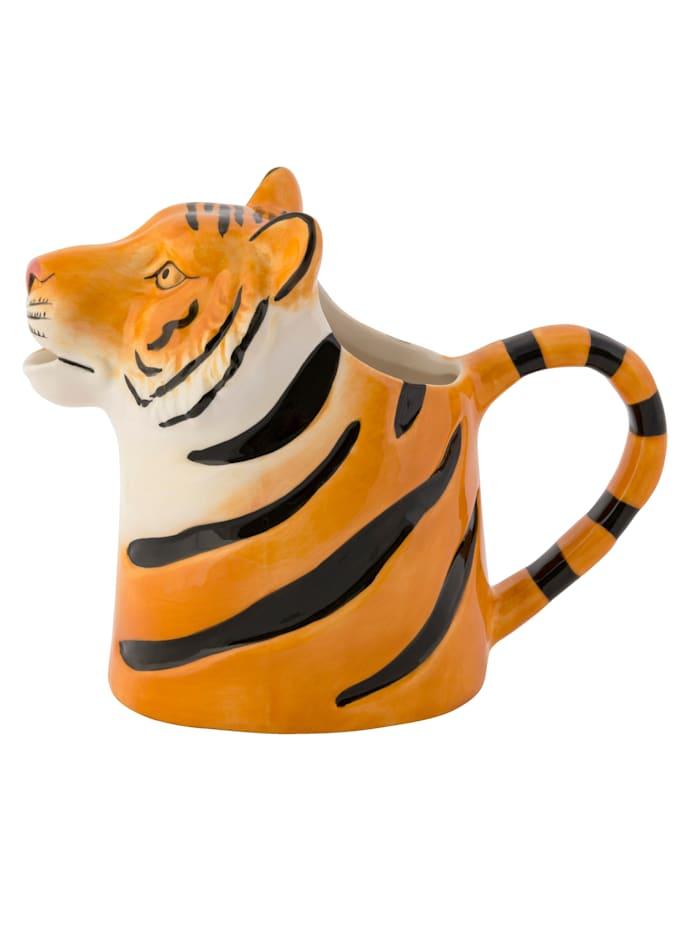 IMPRESSIONEN living Wasserkanne, Tiger, orange/weiß/schwarz