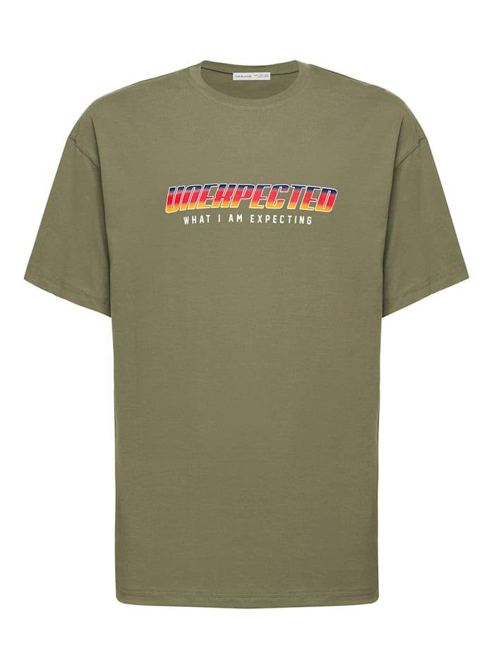 Grimelange T-Shirt Unexpected ., khaki