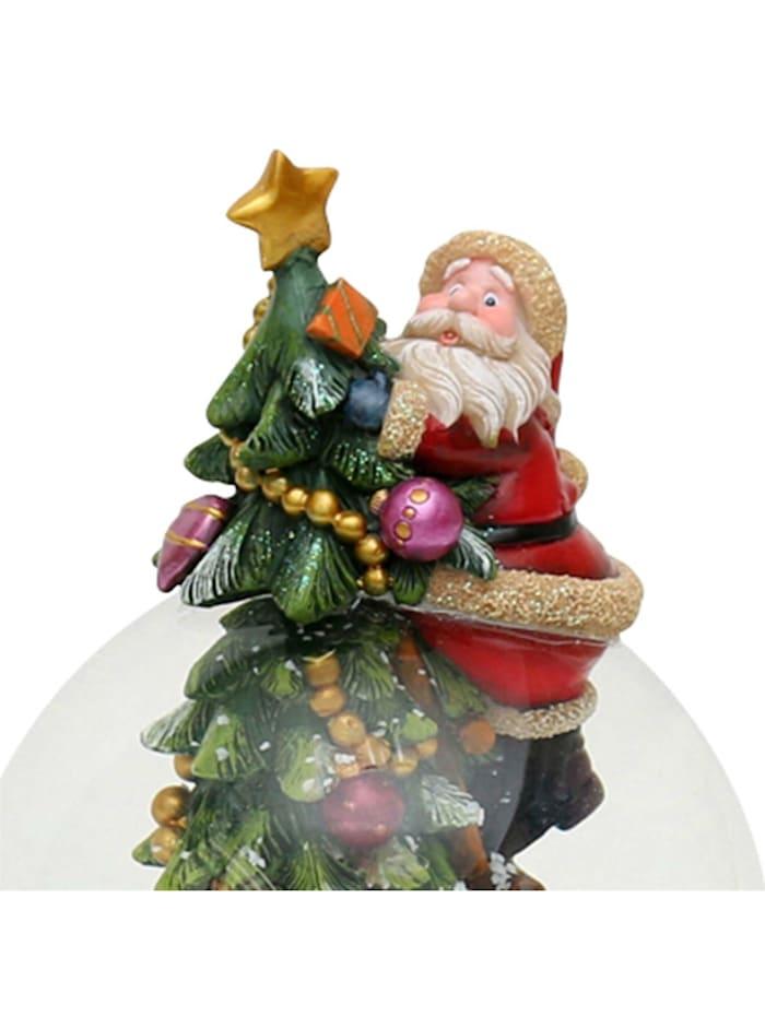 Sigro Schneekugel Weihnachtsmann, Bunt