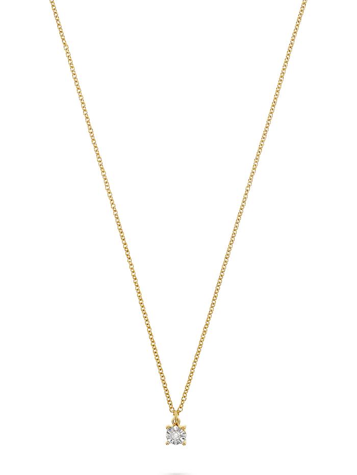 Guido Maria Kretschmer Guido Maria Kretschmer Damen-Kette 925er Silber 1 Diamant, gold