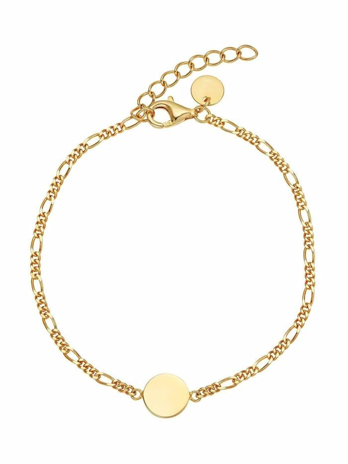 Noelani Armband für Damen, Sterling Silber 925, Coin, Gold