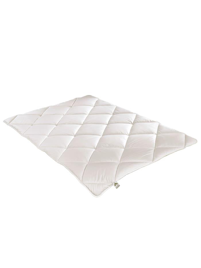 Irisette Bettenprogramm 'Zirbe/Schurwolle ECO', weiß