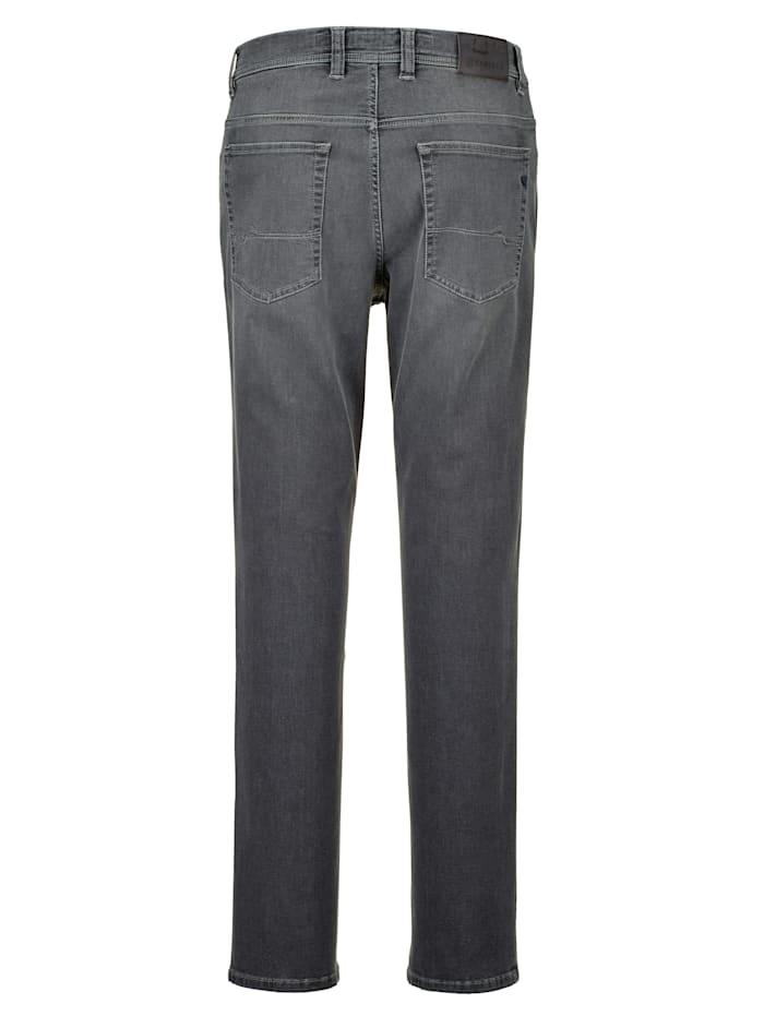 Jeans i mycket elastiskt material
