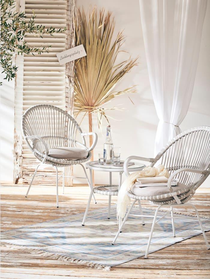 IMPRESSIONEN living Balkon-Set, weiß