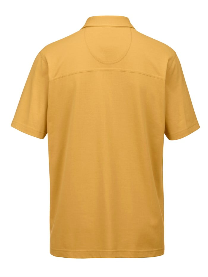 Poloshirt met praktische borstzakken