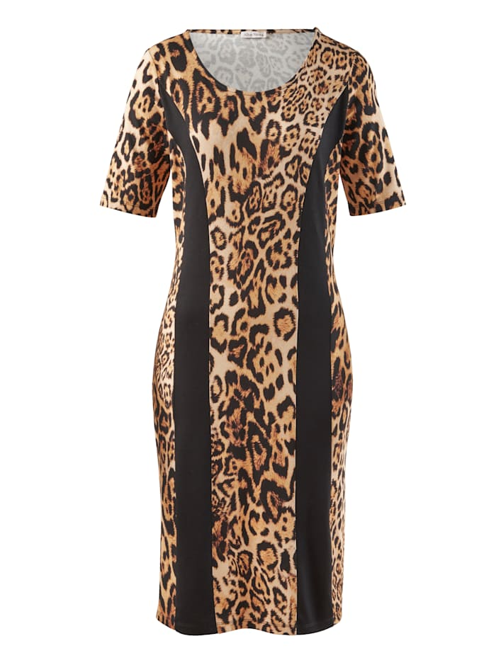 Kleid im Animal-Dessin