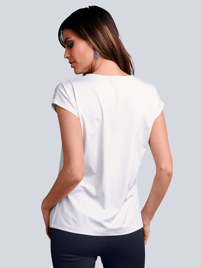 Shirt im Vorderteil mit effektvoller Mittelnaht