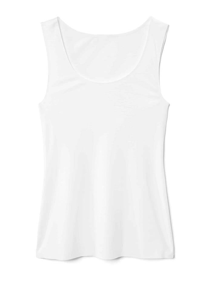 Calida Tank-Top Ökotex zertifiziert, White