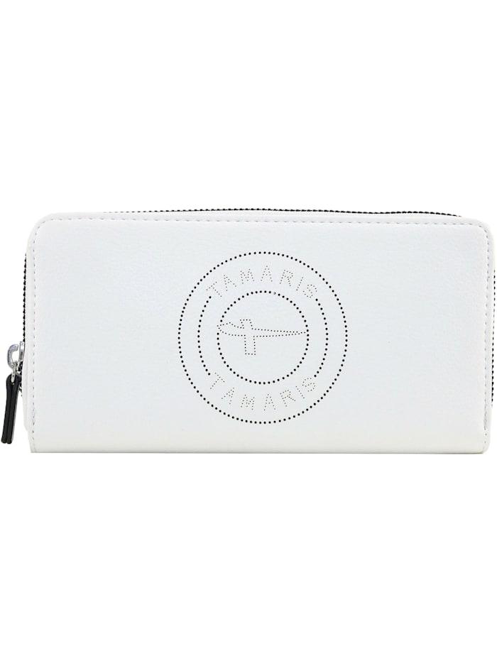 Tamaris Geldbörse 19 cm, white