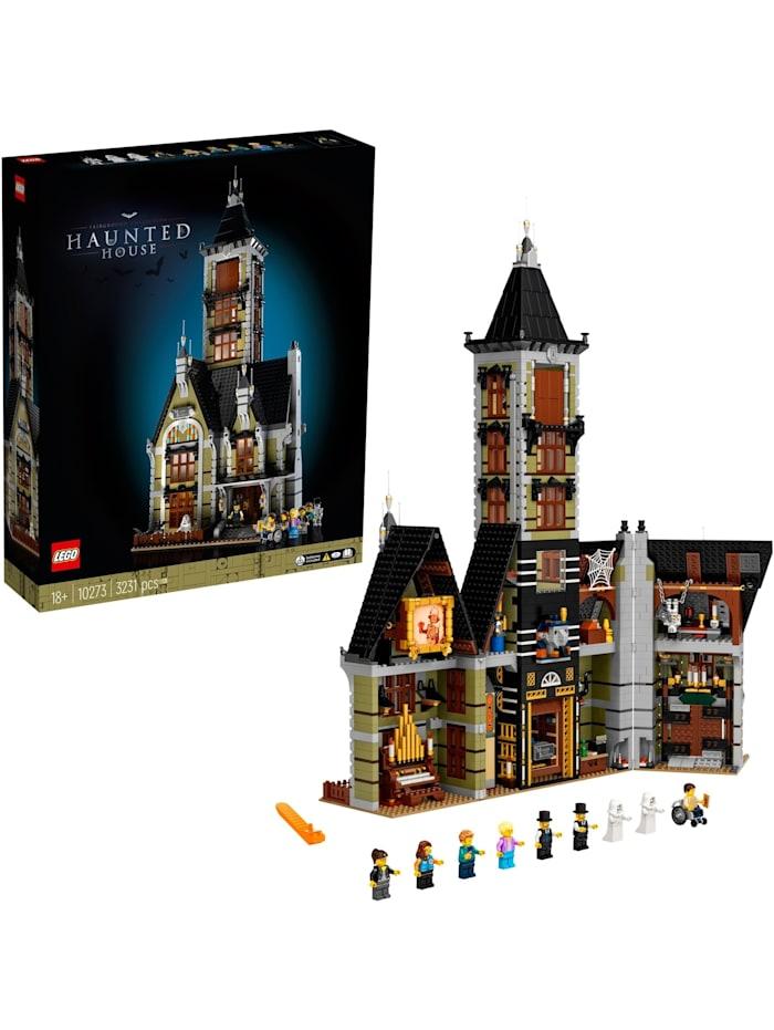 LEGO Konstruktionsspielzeug Creator Expert Geisterhaus auf dem Jahrmarkt, Bunt