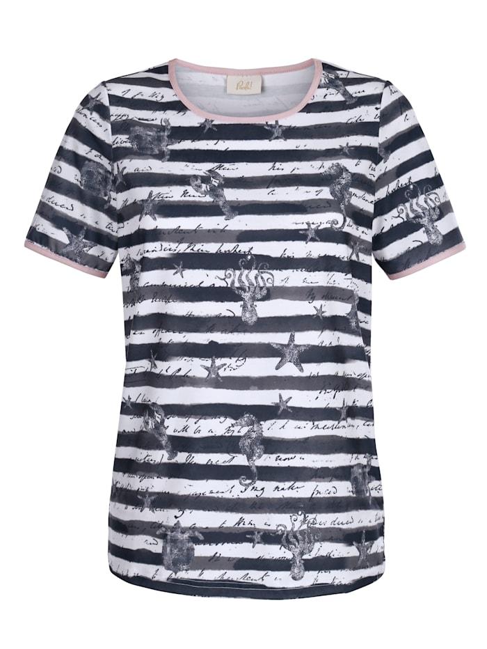 Shirt Maritimer Druck