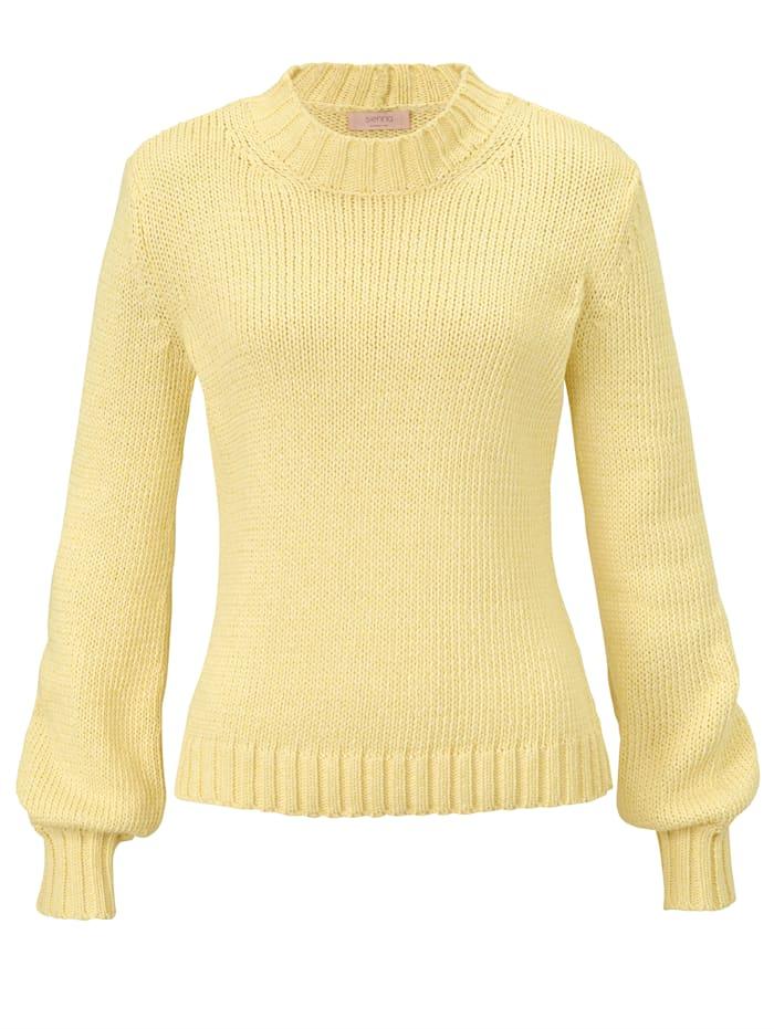 SIENNA Pullover, Gelb