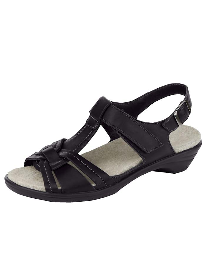 Semler Sandaaltje, Zwart
