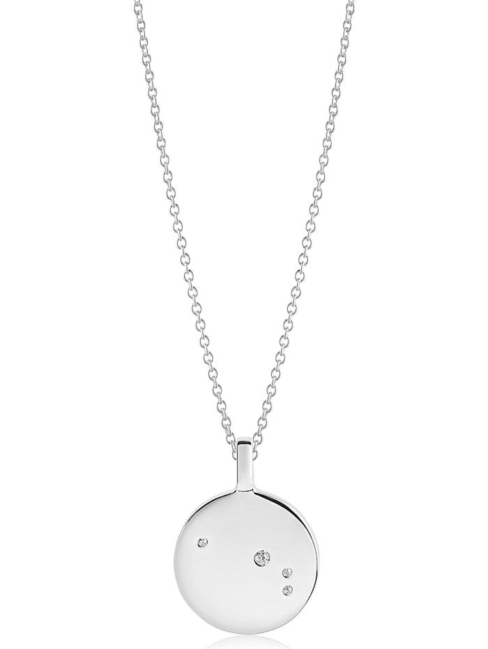 Sif Jakobs Sif Jakobs Jewellery Damen-Kette 925er Silber rhodiniert Zirkonia, silber