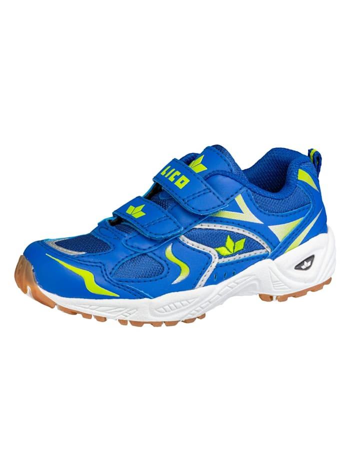 Lico Sportschuh, blau/lemon