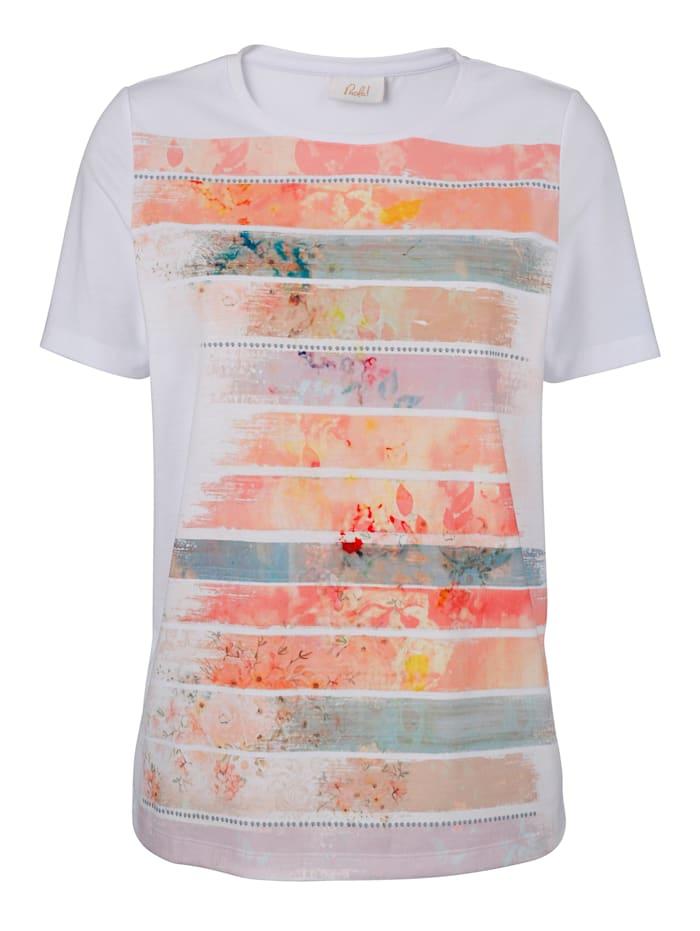 Shirt mit platziertem Druck