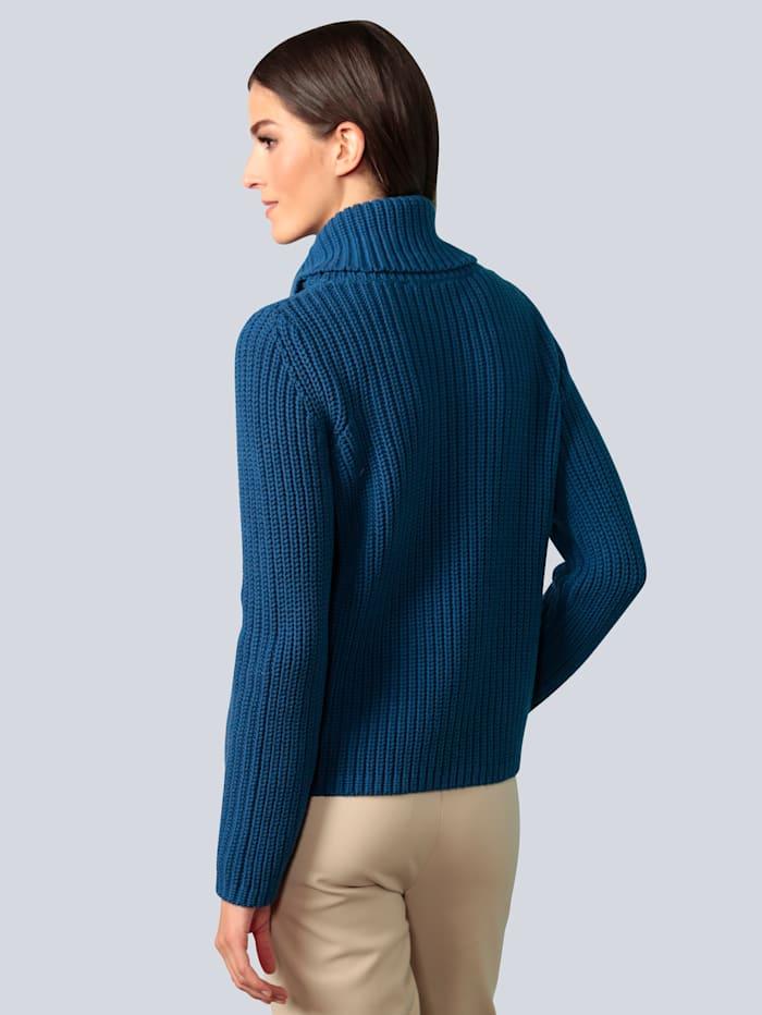 Pullover im Patentstrick