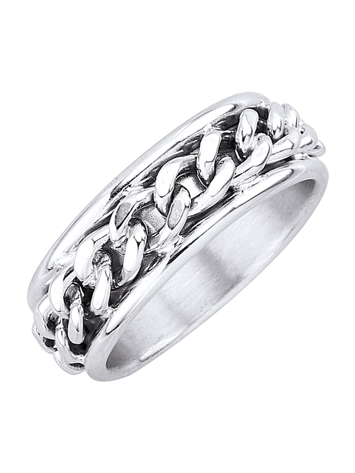 Vriendschapsring van echt zilver, Zilverkleur