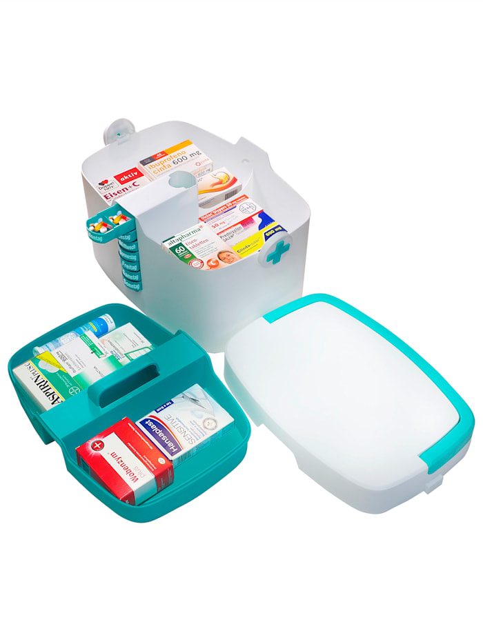 Hausapotheke-Organizer mit 7-Tage-Tablettenbehälter