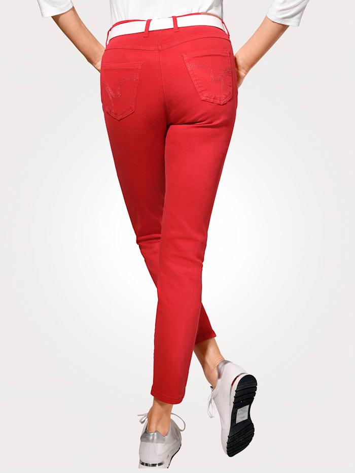 Toni Jeans colored denim, Rot