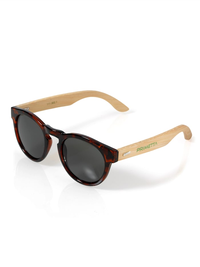 Alba Moda Sonnenbrille mit Vollrand, Braun/Natur