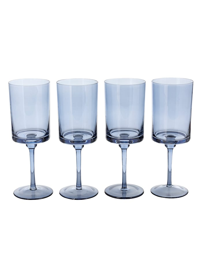 IMPRESSIONEN living Glas-Set, 4-tlg., blau