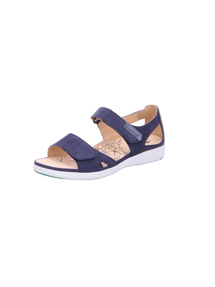 Ganter Sandale, blau
