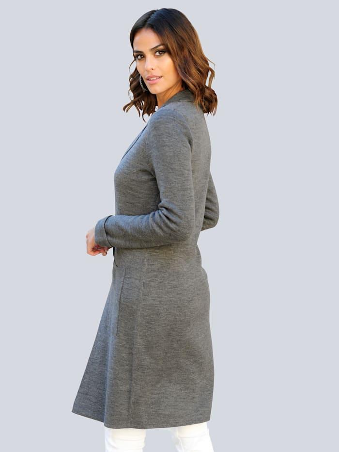 Vest in comfortabel, lang model