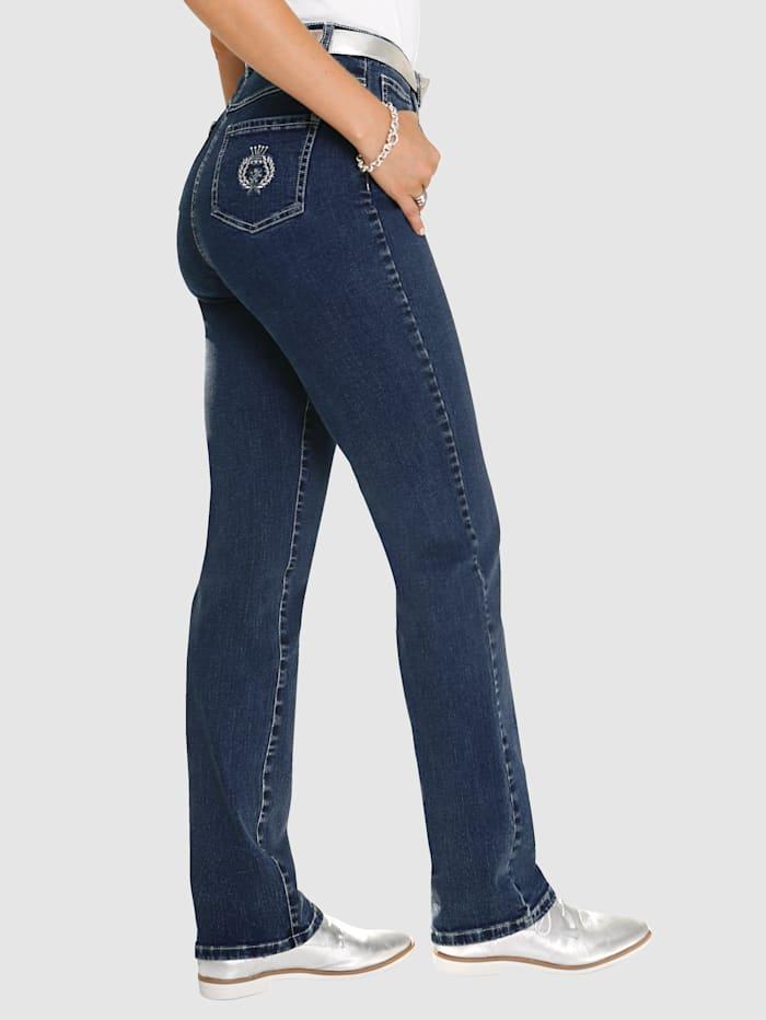 Jeans med bekväm passform