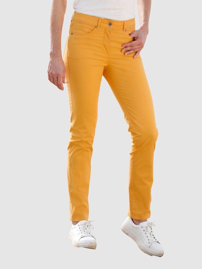 Dress In Pantalon de coupe Sabine Slim, Jaune soleil