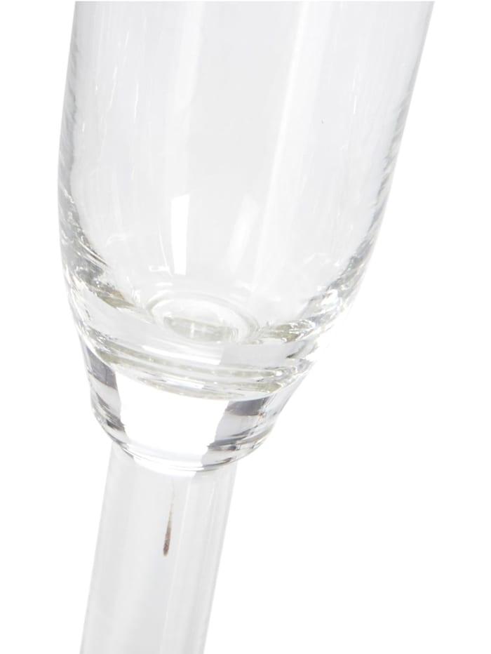 Lot de 6 verres à champagne