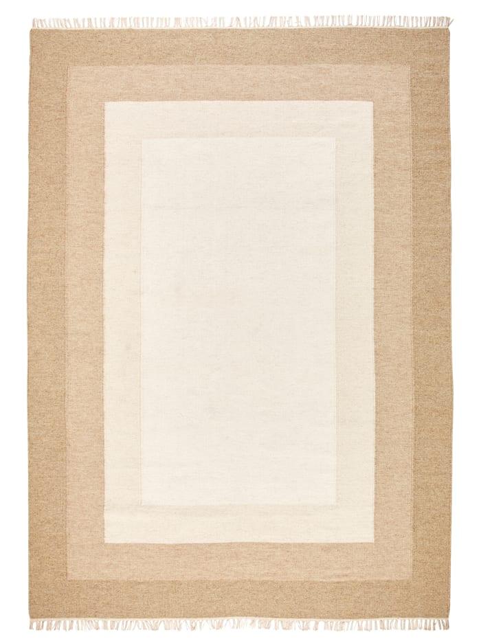 Webschatz Ručne tkaný koberec Zeno, Prírodná biela
