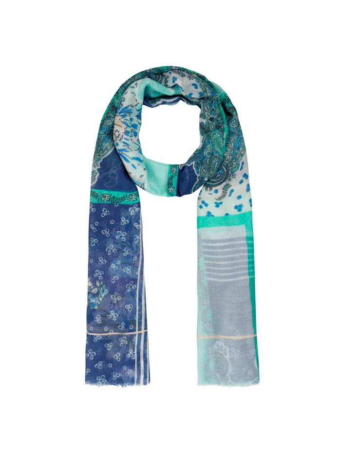 XL-Schal aus Modal mit Seide